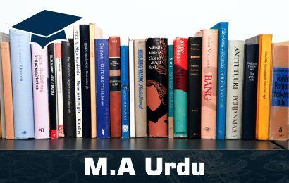 Jobs for MA Urdu